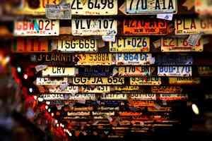 Kennzeichentafeln